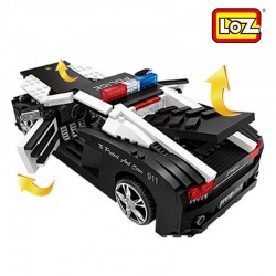 LOZ MINI 1113 LAMBORGHINI POLICE CAR 1005 PCS