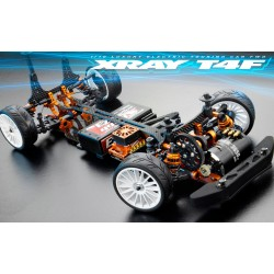 COCHE XRAY T4F 2WD - 1/10 LUXURY ELECTRIC