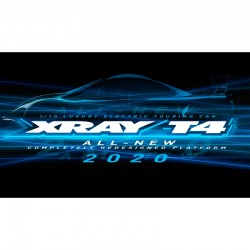 COCHE XRAY T4 - 2020 SPECS - 1/10 LUXURY ELECTRIC