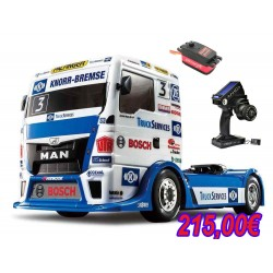 KIT CAMION TAMIYA TEAMHAHN RACING MAN