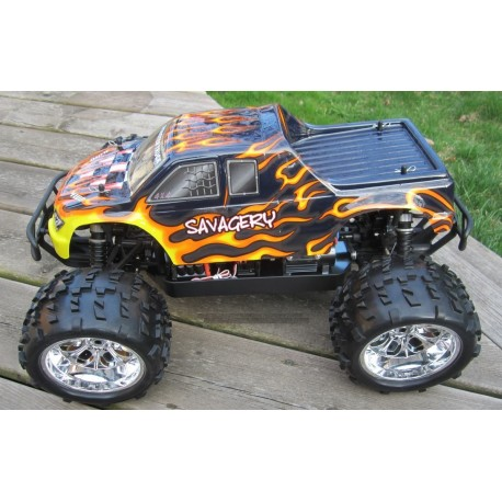 MONSTER 1:8 NOKIER BRUSHLESS LIPO EDITION