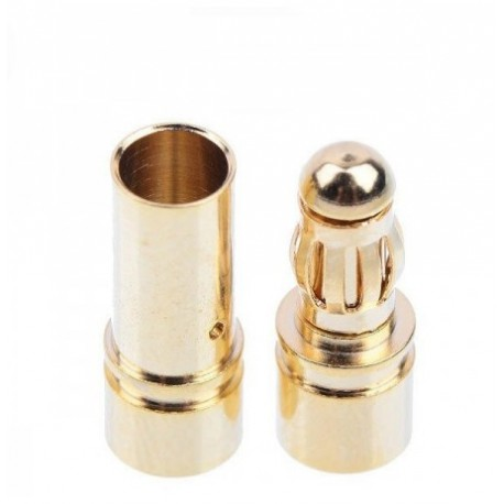 CONECTORES ORO 3,5 MM (2 PARES) + TERM