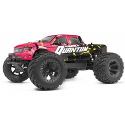 COCHE QUANTUM MT 1/10 4WD MONSTER TRUCK - PINK