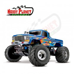 COCHE BIGFOOT, NO1 BLUEX MOSTER TRUCK 1/10 TRAXXAS