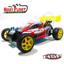 COCHE WARHEAD (ATOMIC) BUGGY 1/10 4WD (2,4GHZ)